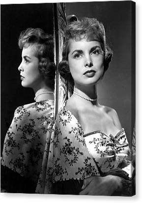 Janet Leigh Canvas Print by Everett