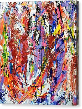 Arcylic Canvas Print - Jazz by Elf Evans