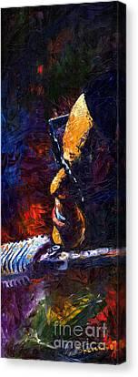 Jazz Ray Canvas Print by Yuriy  Shevchuk