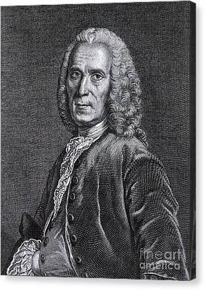 Jean Astruc, French Professor Canvas Print by Science Source