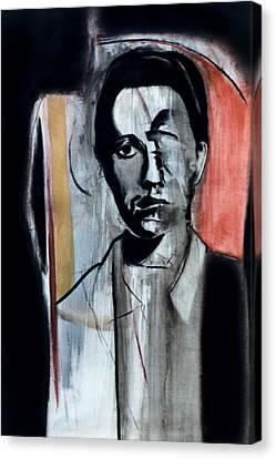 Jean Genet Canvas Print by Fabrice Plas