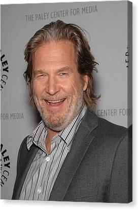 Jeff Bridges In Attendance For American Canvas Print by Everett