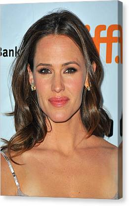 Jennifer Garner At Arrivals For Butter Canvas Print by Everett
