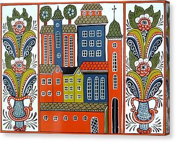 Jerusalem Canvas Print by Leif Sodergren