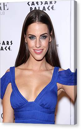 Jessica Lowndes At Arrivals For Jessica Canvas Print by Everett