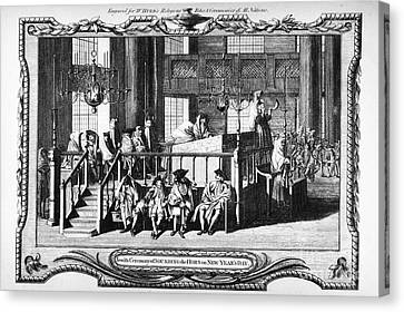 Jewish Life, 18th Century Canvas Print by Granger