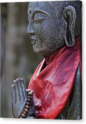 Jizo Canvas Print by Karen Walzer