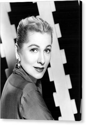 Joan Fontaine, Mgm, 1957 Canvas Print