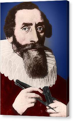 Johannes Kepler, German Astronomer Canvas Print by Science Source