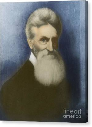 Abolitionist Canvas Print - John Brown, American Abolitionist by Photo Researchers