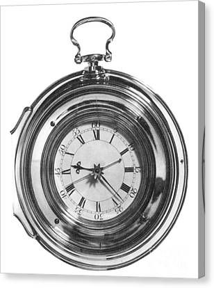 John Harrisons Last Marine Timepiece Canvas Print by Science Source