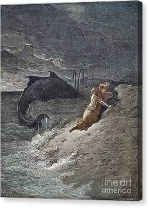 Jonah Canvas Print by Granger