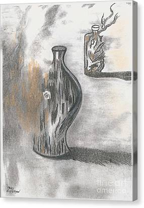 Jug And Bottle Canvas Print