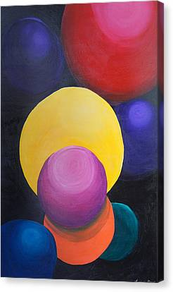 Juggling Balls Canvas Print