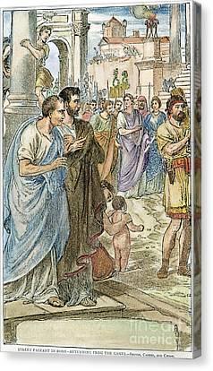 Julius Caesar (100 B.c-44 B.c.) Canvas Print