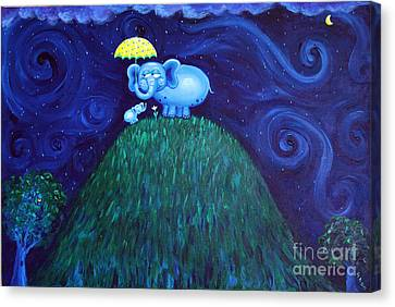 Jumbo Love Canvas Print by Jennifer Alvarez