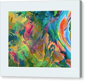 Jungle Spring Canvas Print by David Klaboe