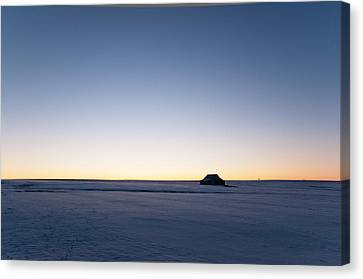 Canvas Print featuring the photograph Just Before Sunrise by Monte Stevens