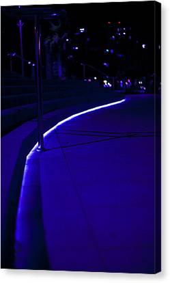 Just Blue Canvas Print by Tal Richter