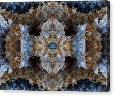 Light Canvas Print - Kaleidoscope by Christopher Gaston