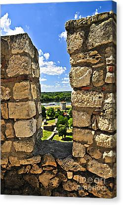 Kalemegdan Fortress In Belgrade Canvas Print