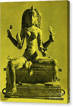 Kali Canvas Print by Photo Researchers