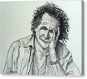 Keef Canvas Print by Pete Maier