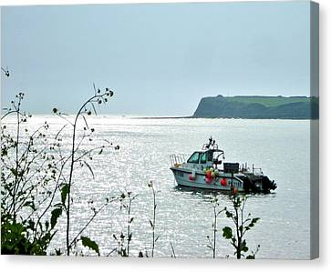 Canvas Print featuring the photograph Kimmeridge by Katy Mei