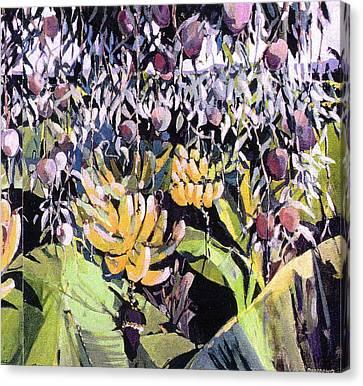 Kona Garden Canvas Print