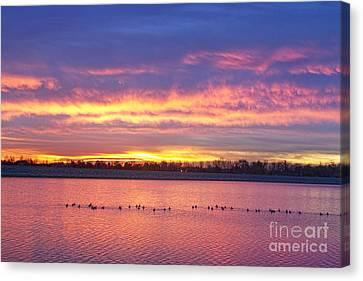 Epic Canvas Print - Lagerman Reservoir Sunrise by James BO  Insogna