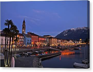 Lake Maggiore - Ascona Canvas Print