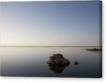 Lake Nasser, Formed When The Nile Canvas Print by Taylor S. Kennedy