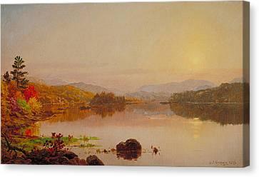 Lake Wawayanda Canvas Print