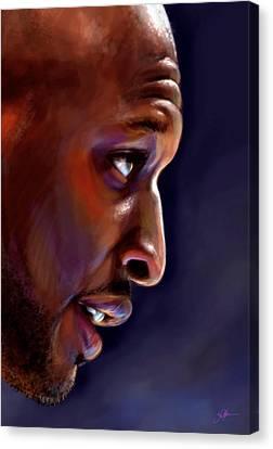Lamar Canvas Print by Jack Perkins