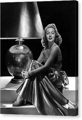 Lana Turner, Mgm, 1939 Canvas Print
