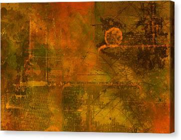 Landscape Of Mars Canvas Print by Christopher Gaston