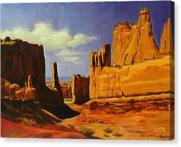 Lane Park  Utah Canvas Print