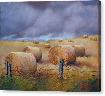 Last Crop Canvas Print by Marcus Moller