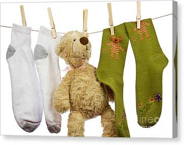 Laundry Canvas Print by Blink Images