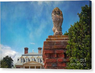 Leo At Shirley Right Side Canvas Print by Susan Isakson