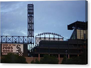 Let's Play Ball Canvas Print by Sharon Spade - Kingsbury