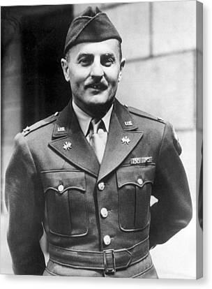 Lieutenant Colonel Darryl F. Zanuck Canvas Print by Everett