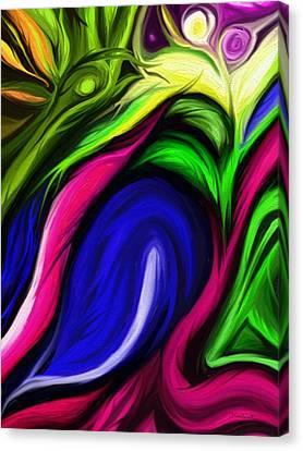 Life Surge Canvas Print