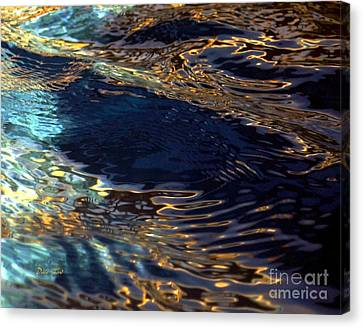 Light On Water Canvas Print by Dale   Ford