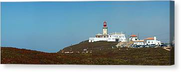 Lighthouse At Cabo Da Roca Canvas Print by Luis Esteves