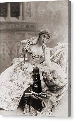 Lillie Langtry 1853-1929, English Canvas Print