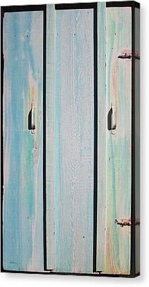 Little Pump House Door Canvas Print