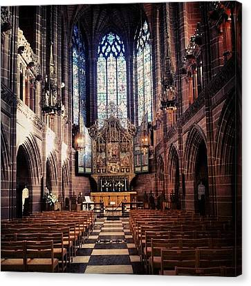 Instago Canvas Print - #liverpoolcathedrals #liverpoolchurches by Abdelrahman Alawwad