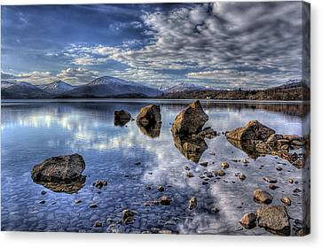 Loch Lomond Canvas Print by Fiona Messenger