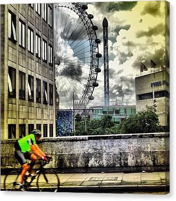 #london #london2012 #ignation #instahub Canvas Print by Vanessa C
